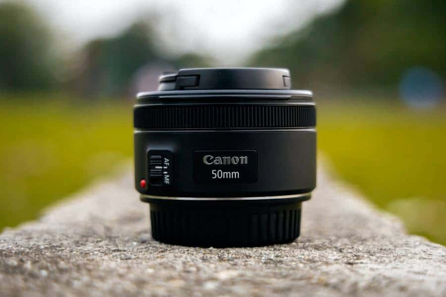 Selective focus if Canon 50mm lens