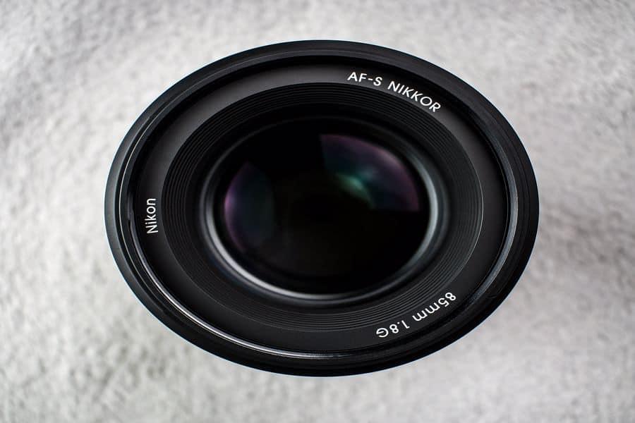 Nikkor f/1.8 lens